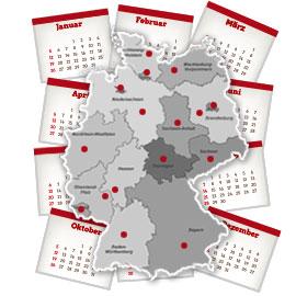 Karte des Monats