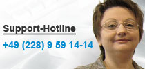 Support-Hotline Lutum+Tappert