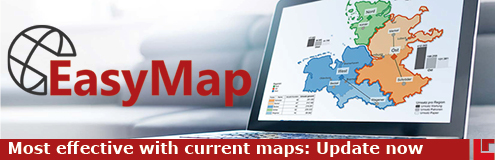 Stay up to date: Current maps for EasyMap now available